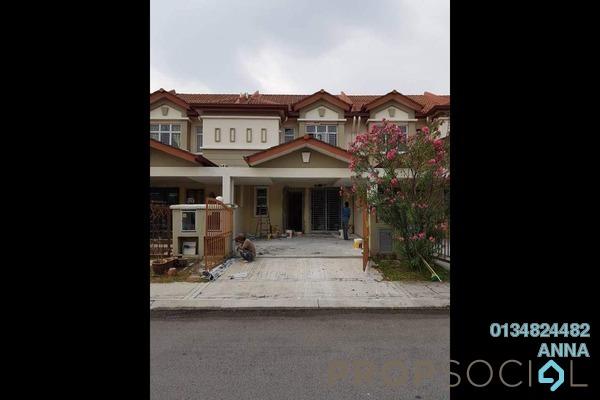 Terrace For Rent in The Armanna @ Kemuning Prima, Kemuning Utama Freehold Unfurnished 4R/3B 1.5k