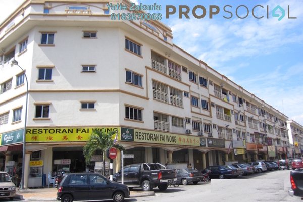 Apartment For Sale in Sri Manja Square, PJ South Freehold Fully Furnished 3R/2B 290k