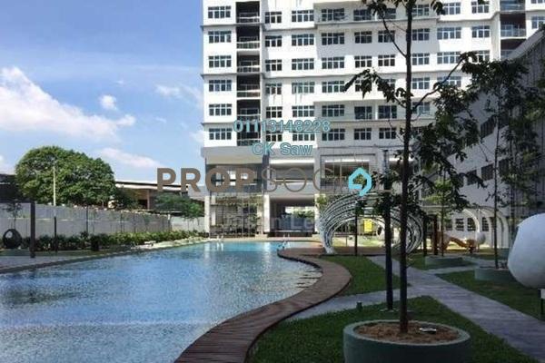 Condominium For Rent in Skypod, Bandar Puchong Jaya Freehold Semi Furnished 1R/1B 1.3k