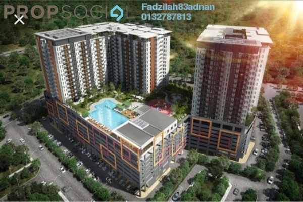 Condominium For Sale in Ascotte Boulevard, Semenyih Freehold Semi Furnished 3R/2B 290k