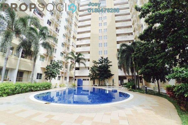 Apartment For Rent in Vistaria Residences, Bandar Puchong Jaya Freehold Semi Furnished 3R/2B 1k