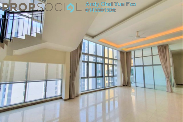 For Rent Condominium at Hampshire Residences, KLCC Freehold Semi Furnished 5R/6B 10.5k