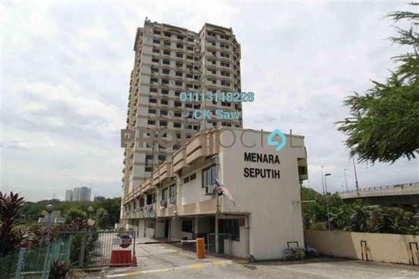 Condominium For Rent in Menara Seputih, Seputeh Freehold Fully Furnished 2R/1B 1.6k