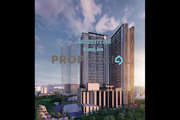 Condominium For Sale in The Hipster, Taman Desa Leasehold Unfurnished 3R/2B 378k