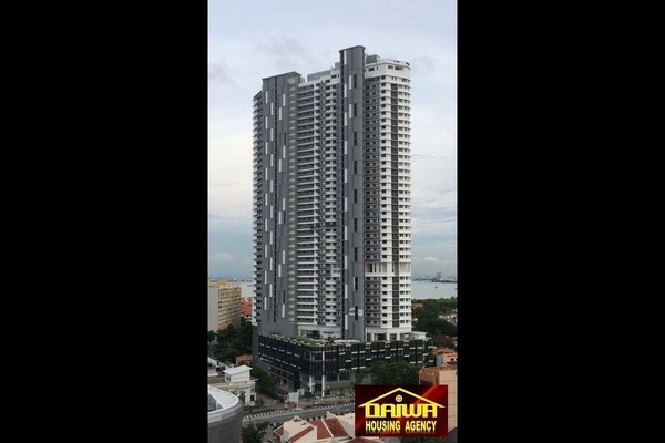 Condominium For Rent in The Landmark, Tanjung Tokong Freehold Fully Furnished 1R/1B 3k