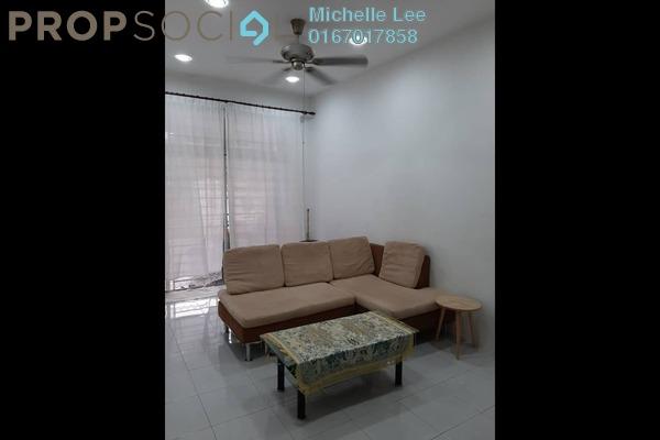 Terrace For Rent in Setia Indah, Tebrau Freehold Fully Furnished 3R/2B 1.5k
