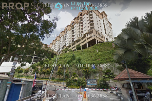 Condominium For Sale in Ixora Apartment, Kepong Freehold Semi Furnished 3R/2B 243k