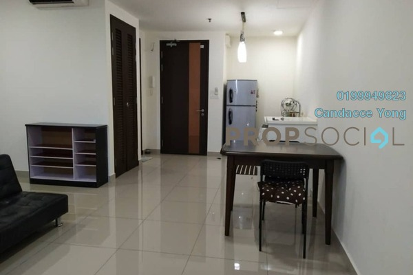 Serviced Residence For Rent in Trefoil, Setia Alam Freehold fully_furnished 0R/1B 1.2k