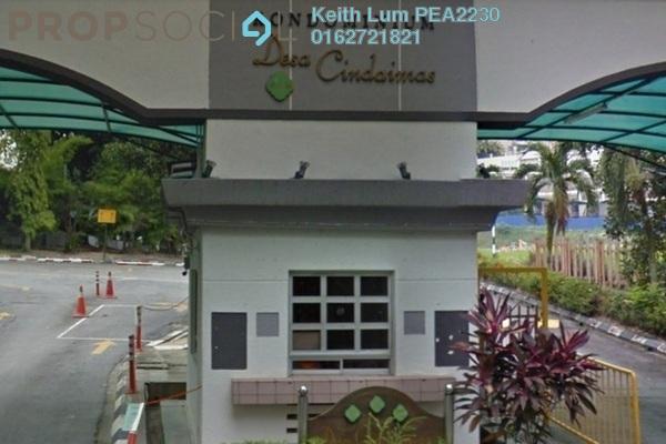 Condominium For Sale in Desa Cindaimas, Old Klang Road Freehold Semi Furnished 3R/2B 550k