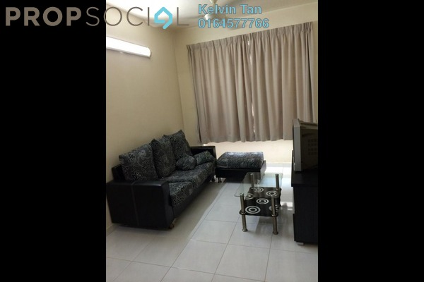 Apartment For Rent in Harmony View, Jelutong Freehold Fully Furnished 3R/2B 1.2k