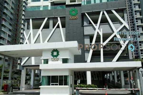 For Rent Condominium at Twinz Residences, Bandar Puchong Jaya Freehold Semi Furnished 3R/2B 1.5k