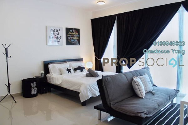 Serviced Residence For Rent in Trefoil, Setia Alam Freehold fully_furnished 0R/2B 1.2k