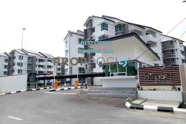Apartment For Sale in Airport Avenue Serviced Apartments, Miri Leasehold Semi Furnished 4R/4B 510k