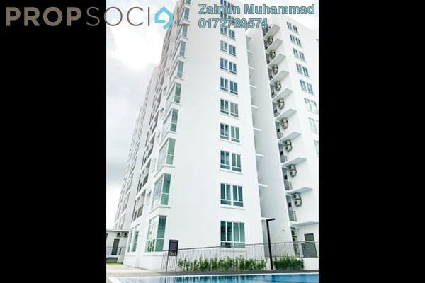Apartment For Rent in Bangi Gateway, Bandar Baru Bangi Freehold Semi Furnished 3R/1B 1.5k