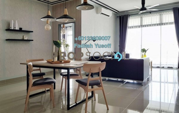 Apartment For Rent in Tamara, Putrajaya Freehold Fully Furnished 3R/2B 2.1k