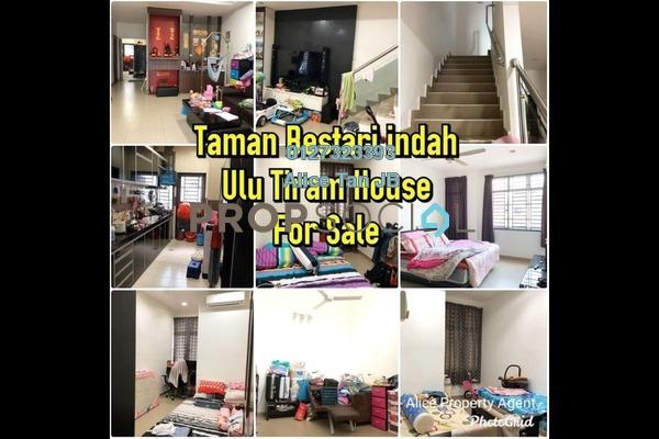 Terrace For Sale in Taman Bestari Indah, Ulu Tiram Freehold Semi Furnished 4R/2B 478k