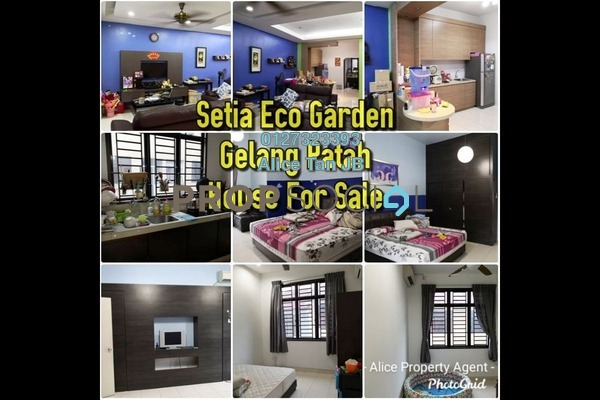 Terrace For Sale in Luciana, Setia Eco Gardens Freehold Semi Furnished 4R/4B 555k