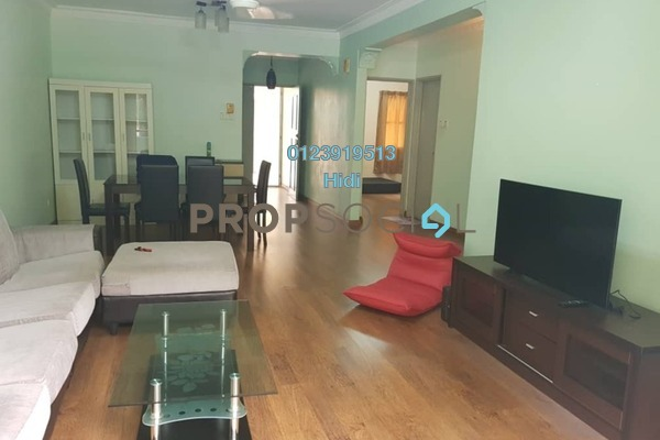 Condominium For Rent in Paradesa Rustica, Bandar Sri Damansara Freehold Semi Furnished 3R/2B 1.3k