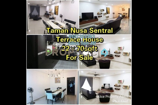 Terrace For Sale in Nusa Sentral, Iskandar Puteri (Nusajaya) Freehold Semi Furnished 4R/3B 668k