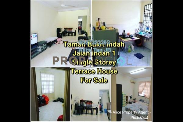 Terrace For Sale in Taman Bukit Indah, Bukit Indah Freehold Semi Furnished 3R/2B 450k