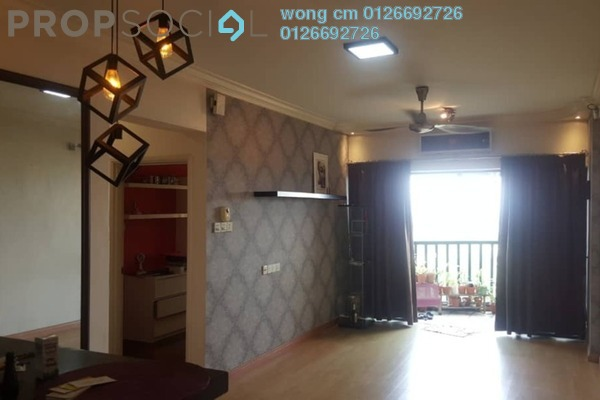 For Rent SoHo/Studio at Anjung Hijau, Bukit Jalil Freehold Fully Furnished 2R/1B 1.5k