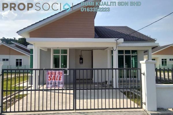 For Sale Bungalow at Taman Bukit Gedup Utama, Dungun Freehold Unfurnished 3R/2B 357k
