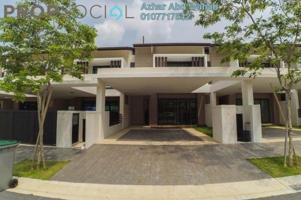 Superlink For Sale in Alamanda Superlink Homes 2, Kota Seriemas Freehold Unfurnished 4R/4B 650k