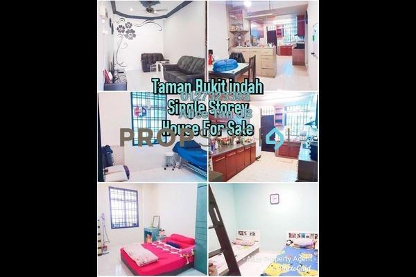 Terrace For Sale in Taman Bukit Indah, Bukit Indah Freehold Semi Furnished 3R/2B 468k