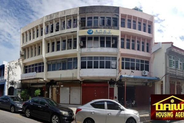Shop For Rent in Lorong Macalister, Georgetown Freehold Unfurnished 0R/2B 3.5k