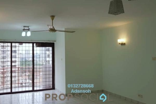 For Rent Condominium at Villa Angsana, Jalan Ipoh Freehold Semi Furnished 3R/2B 1.7k