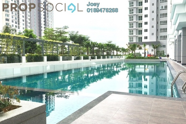 Condominium For Rent in The Scott Garden, Old Klang Road Freehold Semi Furnished 1R/2B 1.5k
