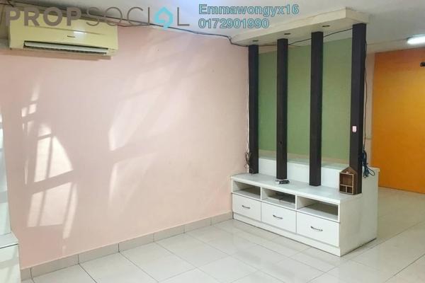 Terrace For Rent in Taman Selayang Jaya, Selayang Freehold Semi Furnished 3R/2B 1.5k
