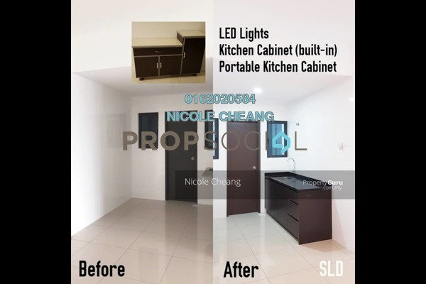 Condominium For Rent in Landmark II, Bandar Sungai Long Freehold Semi Furnished 3R/2B 1.3k