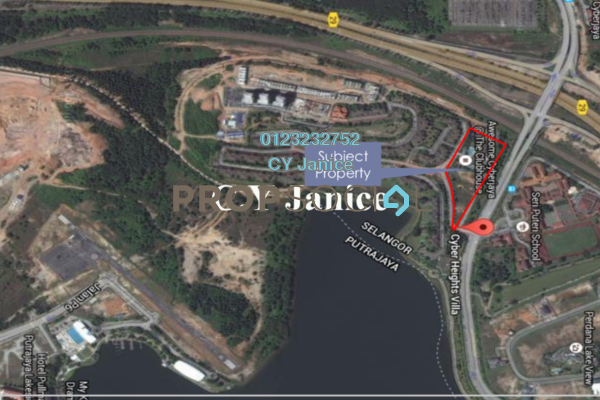 For Sale Land at Cyber Heights Villa, Cyberjaya Freehold Unfurnished 0R/0B 77.1m