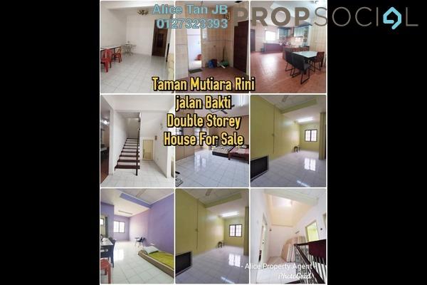 Terrace For Sale in Taman Mutiara Rini, Skudai Freehold Semi Furnished 4R/3B 590k