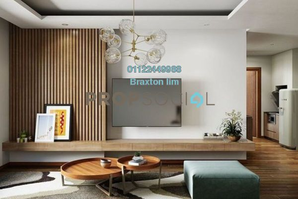 Serviced Residence For Sale in Cendana, KLCC Freehold Semi Furnished 3R/3B 1.5m