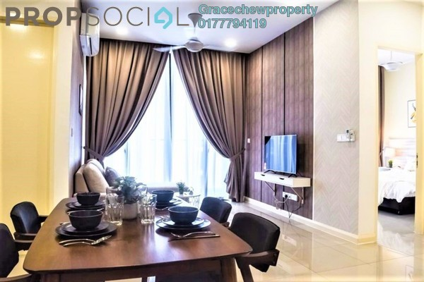 Serviced Residence For Rent in D'Pristine, Medini Freehold Fully Furnished 2R/2B 2k