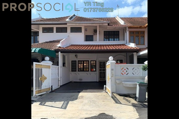 Terrace For Sale in Taman Saujana Indah, Bukit Katil Freehold Semi Furnished 4R/2B 400k
