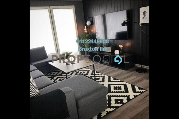 For Rent Serviced Residence at Hampshire Park, KLCC Freehold Semi Furnished 2R/3B 5k