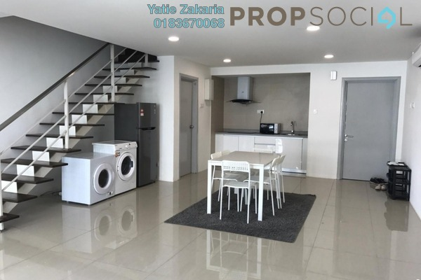 For Sale Duplex at Arte SW, Shah Alam Freehold Fully Furnished 2R/2B 490k