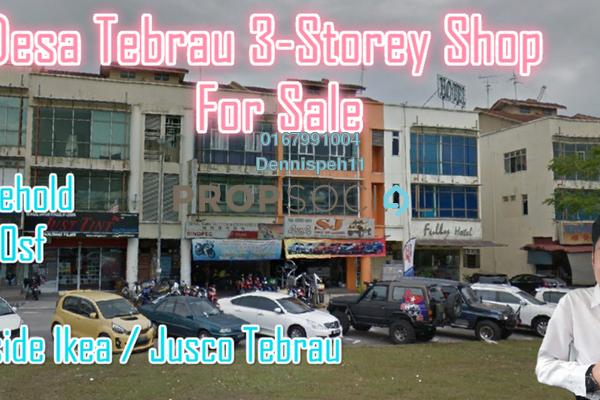 Shop For Sale in Taman Desa Tebrau, Tebrau Freehold Unfurnished 0R/0B 1.8m