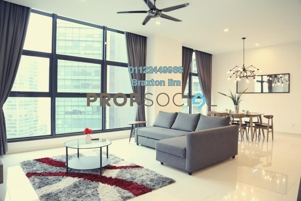 Serviced Residence For Sale in Mirage Residence, KLCC Freehold Semi Furnished 1R/1B 1.1m