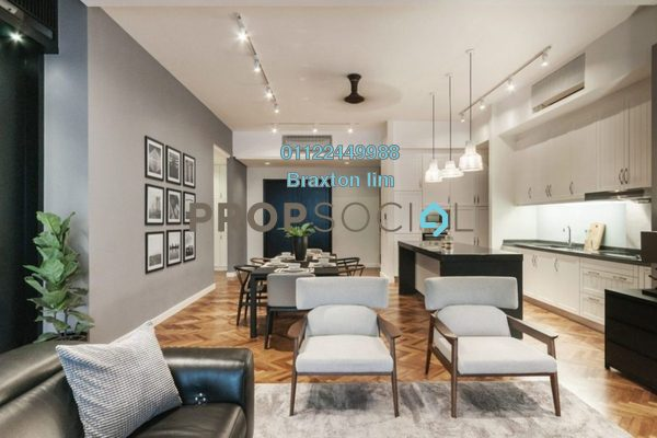 Serviced Residence For Sale in Ampersand, KLCC Freehold Semi Furnished 3R/4B 2.8m