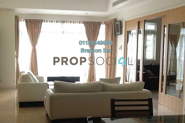 Serviced Residence For Rent in Binjai Residency, KLCC Freehold semi_furnished 3R/5B 7k