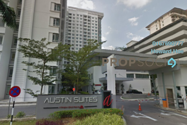 Condominium For Sale in Austin Suites, Tebrau Freehold Fully Furnished 1R/1B 290k