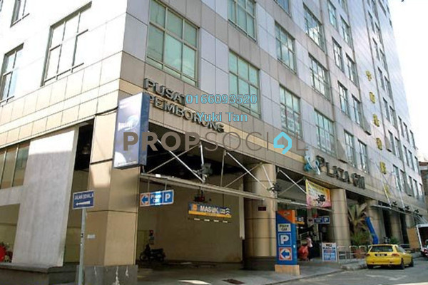 For Sale Shop at Plaza GM, Chow Kit Freehold Unfurnished 0R/0B 780k