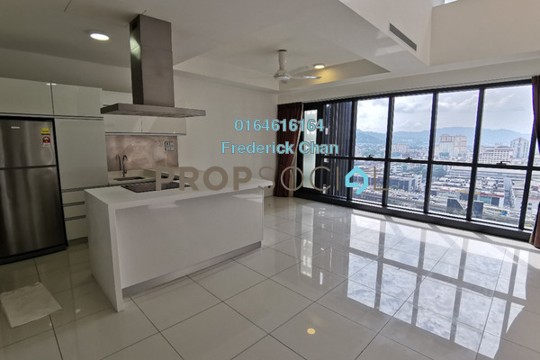 Duplex For Sale in M City, Ampang Hilir Freehold Semi Furnished 2R/2B 1.09m
