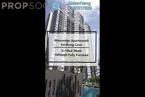 Condominium For Rent in The Water Edge Apartment, Masai Freehold Fully Furnished 3R/3B 3k