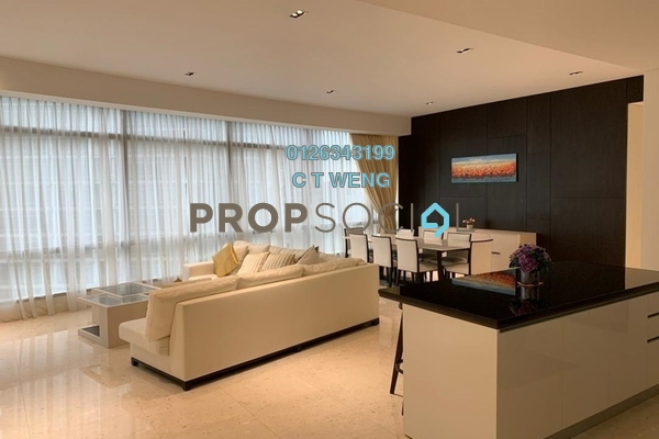 Condominium For Rent in Banyan Tree, KLCC Freehold Fully Furnished 3R/5B 13k
