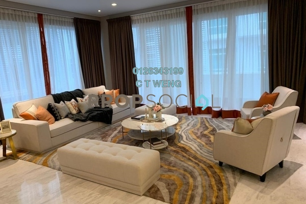 Condominium For Sale in Nobleton Crest, Ampang Hilir Freehold Fully Furnished 4R/6B 3.63m